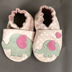 Robeez Baby Moccasins, 0-6 month